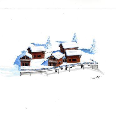 Chalets Lagaun, Winter Symbolfoto