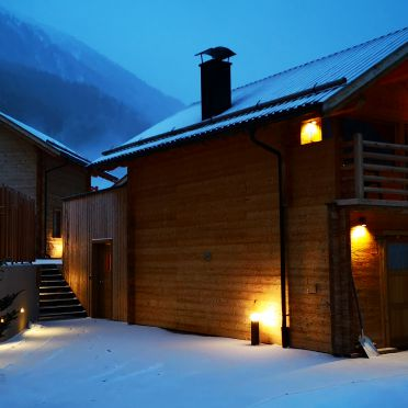 , Chalets Lagaun in Schnalstal, Südtirol, Alto Adige, Italy