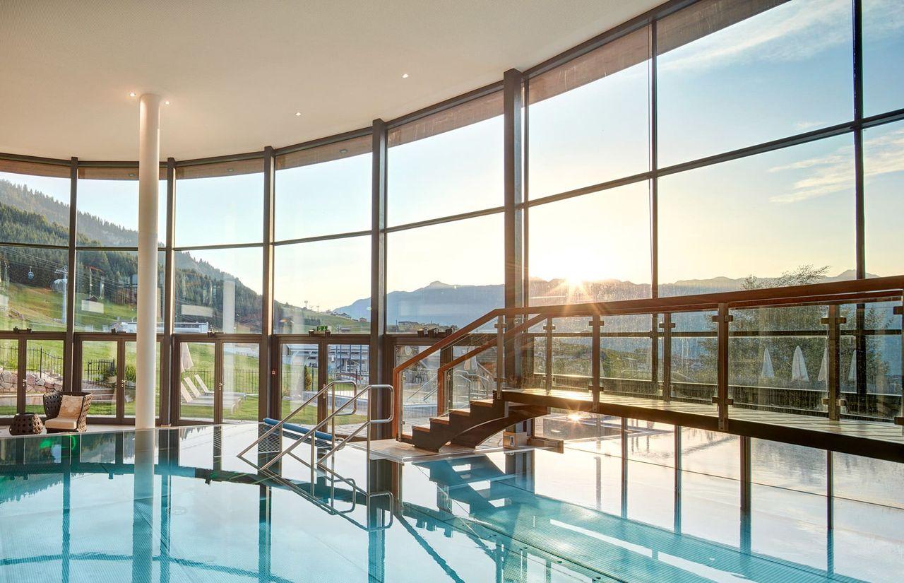 Panorama-Pool des Aqua Monte