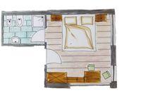 Doppelzimmer diagram
