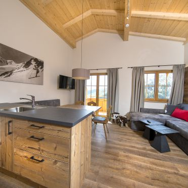 Chalet Rettenstein, living-kitchen-area