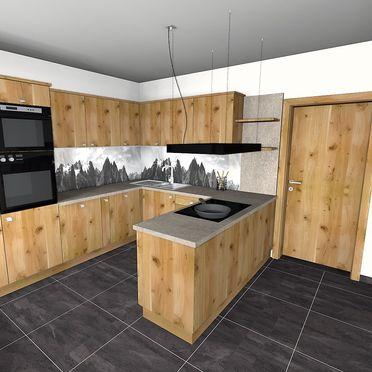 Bachgut Berg Chalet, kitchen