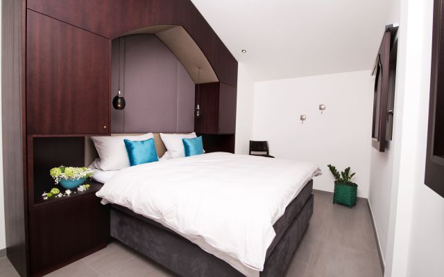 BIO HOTEL 7 Sentidos: Schlafzimmer