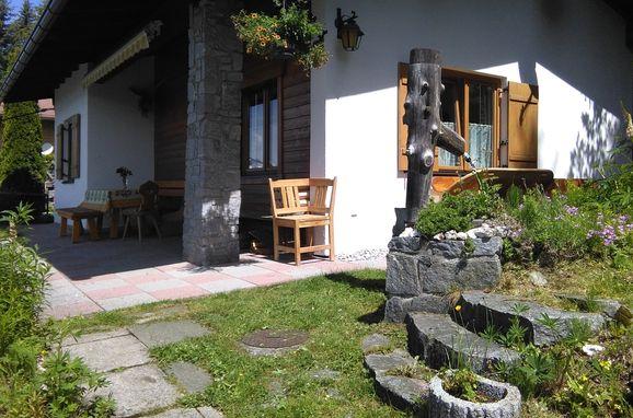 Ferienhaus Hochsonnegg, summer - terrace