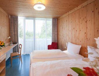 Galleria - camera doppia - Bio Hotel und Restaurant Seehörnle