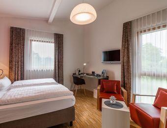 Atelier - Double Room - Komfort - Bio Hotel und Restaurant Seehörnle