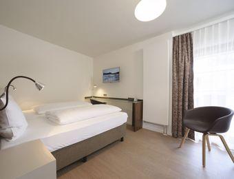 Atelier - Single Room - Balcony - Bio Hotel und Restaurant Seehörnle