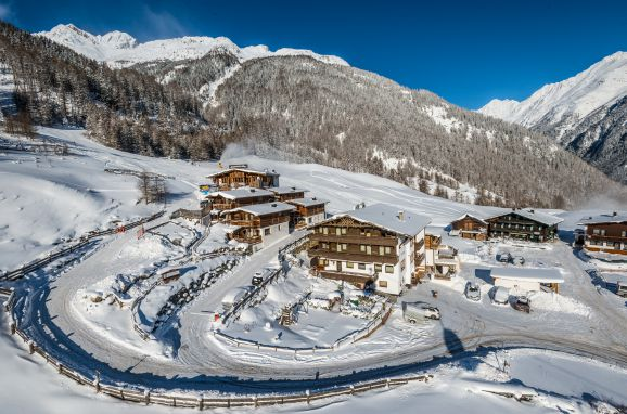 Winter, Grünwald Grand Chalet, Sölden, Tirol, Österreich