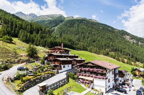 Sommer , Grünwald Alpine Lodge I, Sölden, Tirol, Österreich