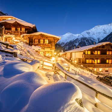 Winter, Grünwald Alpine Lodge II in Sölden, , Tirol, Österreich