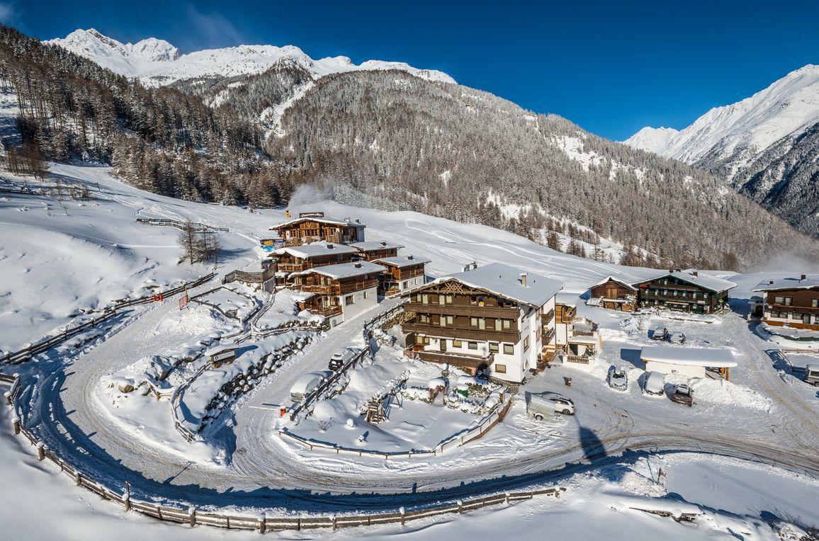 Grünwald Alpine Lodge IV, Winter