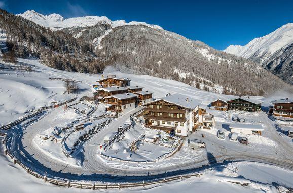Winter, Grünwald Alpine Lodge IV, Sölden, Tirol, Österreich