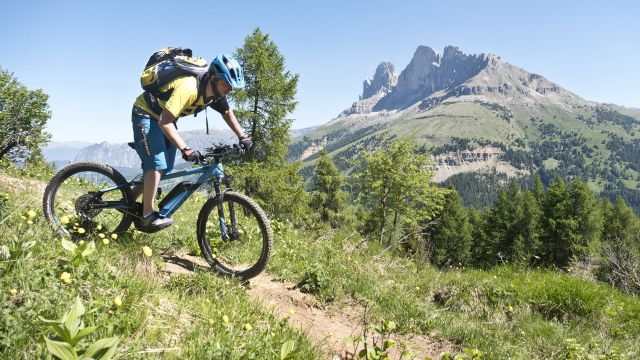 Settimane single trail in eBike, primavera
