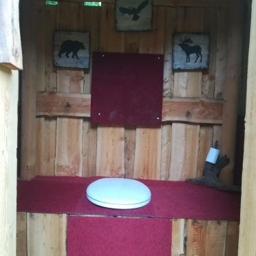 Hütte Almparadies, Toilette