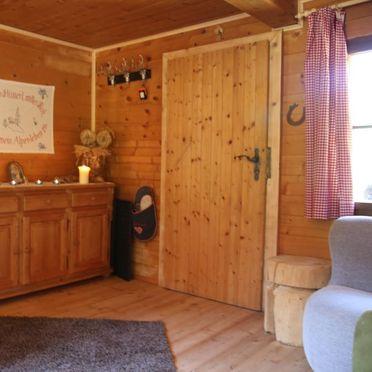 Hütte Almparadies, Wohnbereich