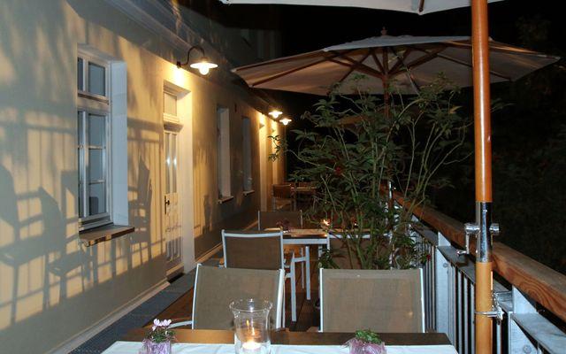 BIO HOTEL: Schönhagener Mühle Terrasse