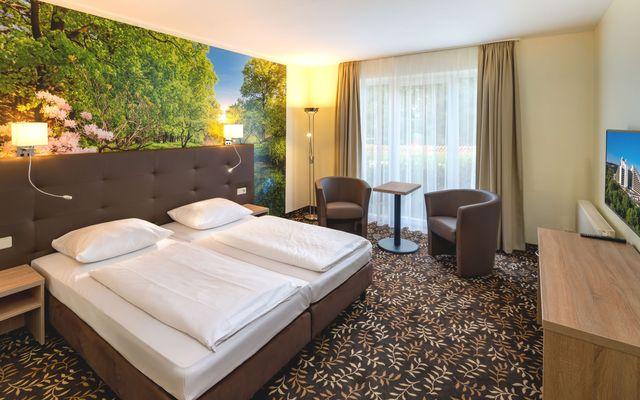 AHORN Panorama Hotel Oberhof - Rennsteig-Studio_Schlafzimmer