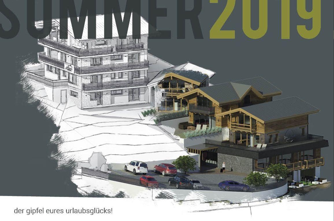 Appartement Mont Blanc, Sommer
