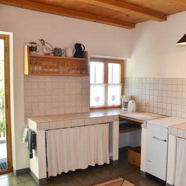 Küche, Kohlstatt Hütte in Vöran, Trentino-Südtirol, Trentino-Südtirol, Italien