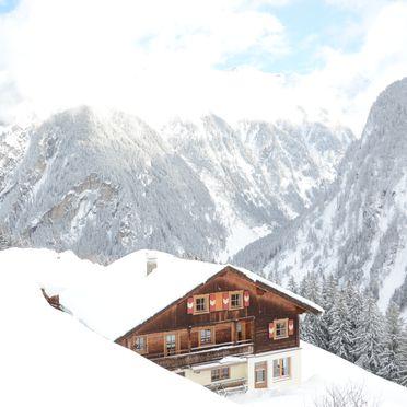 Winter, Alpenchalet Königreich Innerböden, Ginzling-Mayrhofen, Tirol, Tirol, Österreich