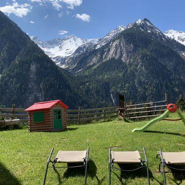 Sommer, Alpenchalet Königreich Innerböden in Ginzling-Mayrhofen, Tirol, Tirol, Österreich