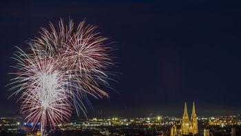 Silvester in Regensburg 2020