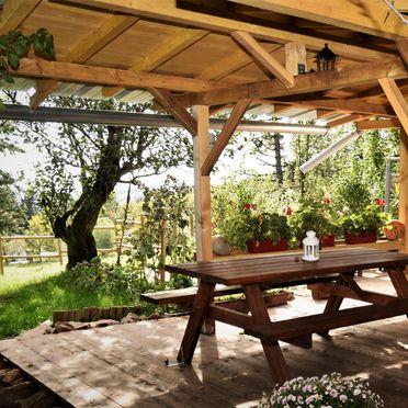 Terrasse, Kiefer Hütte , La Rosiere - Vogesen, Vogesen, Elsass, Frankreich