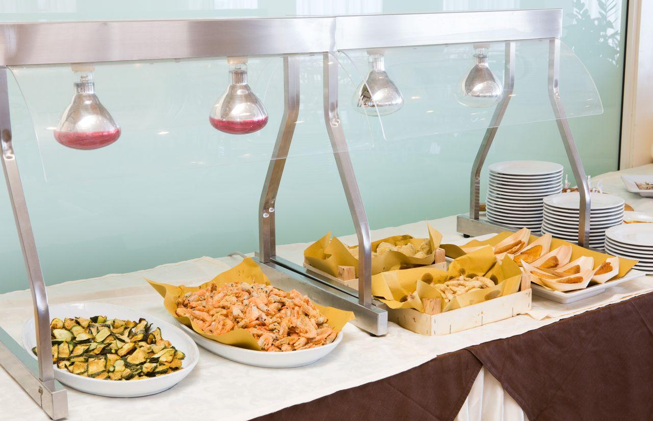 Buffet-Restaurant des Familienhotels