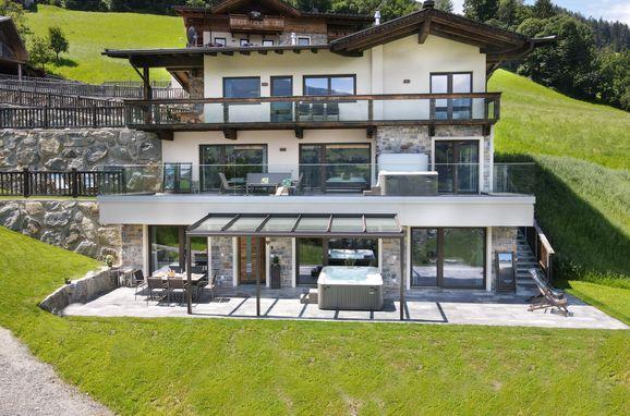 Sommer Außen, Superior Chalet Berggold in Kaltenbach im Zillertal, Tirol, Tirol, Österreich