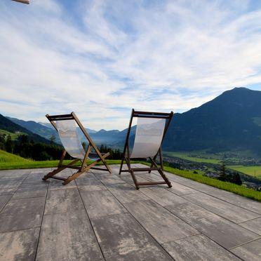 Sommer Terrasse, Deluxe Suite Goldreh, Kaltenbach im Zillertal, Tirol, Tirol, Österreich