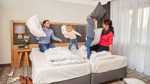 Mehr Spaß für die Kleinen! Im Familienhotel DAS LUDWIG warten spannende Angebote auf Ihre Familie.
