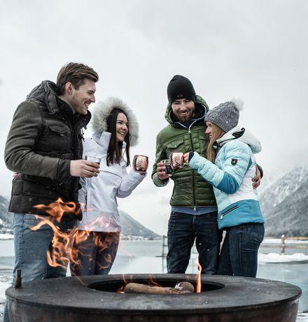 Winter gift at the lake (7=6)