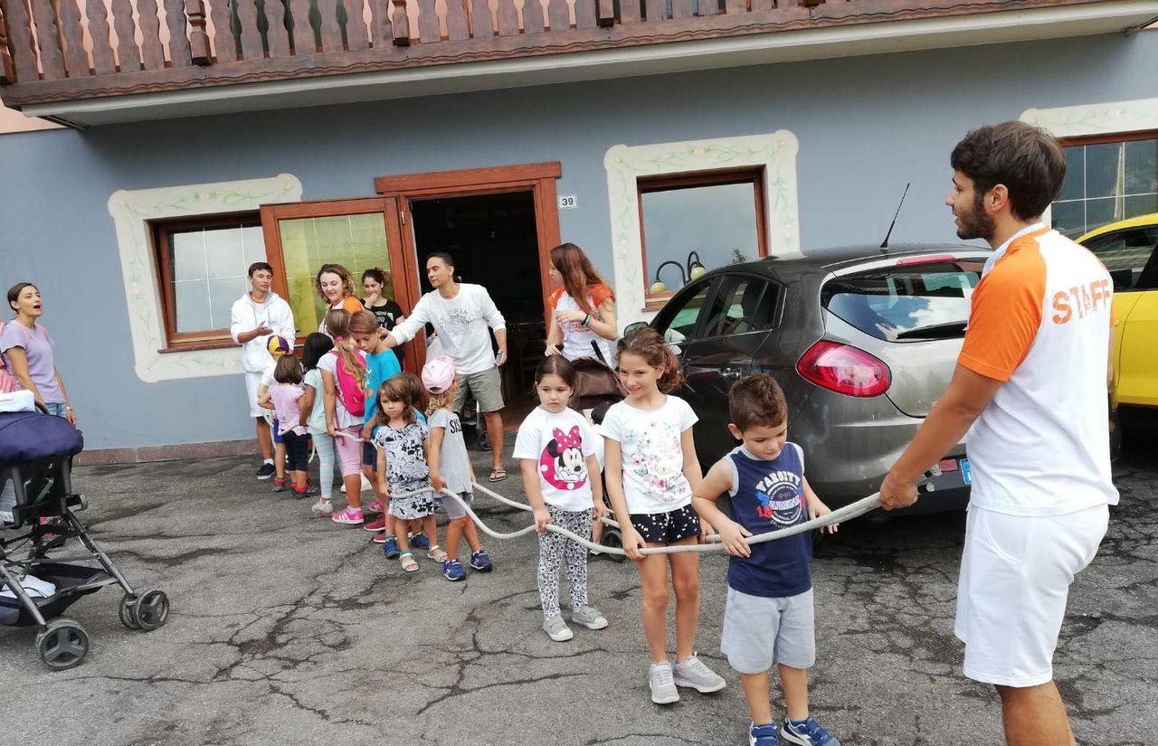 Animation für Kinder im Familienhotel fabilia Family Hotel Polsa