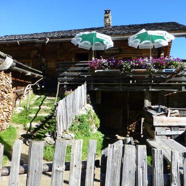 Sonnenterrasse, Arnitzalm in Matrei/Osttirol, Tirol, Tirol, Österreich