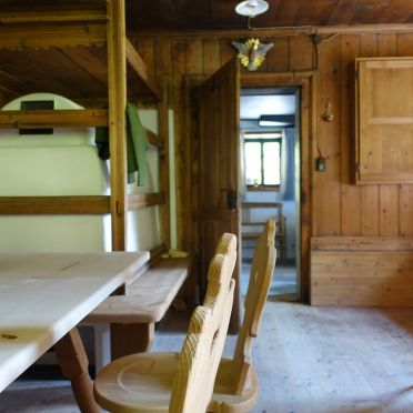 Stube, Lacknerbrunn ASTL-Alm, Mayrhofen, Tirol, Tirol, Österreich