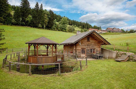 Sommer, Hüblerhütte in Bad St. Leonhard, Kärnten, Kärnten, Österreich