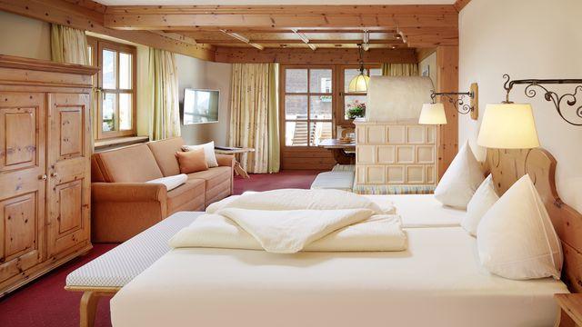 ZUGSPITZE Doppelzimmer |  ab 35 qm - 1 Raum