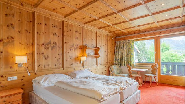 WETTERSTEIN Doppelzimmer | 30 qm - 1 Raum