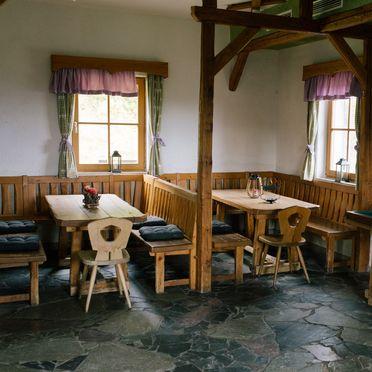 living area, Gamsberg Hütte, Pack, Styria , Austria