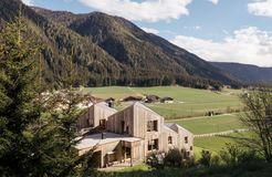 Biohotel Blaslahof: Außenansicht Sommer - Blasla Hof, Gsies, Südtirol, Trentino-Südtirol, Italien