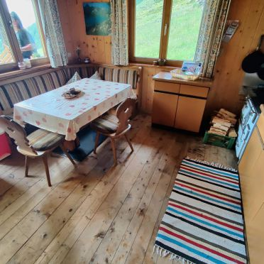 Kitchen with living area, Oberpranterhütte in Meransen, , Alto Adige, Italy