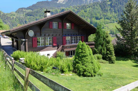 Außen Sommer 1 - Hauptbild, Chalet am Schärm, Lauterbrunnen, Berner Oberland, Bern, Schweiz