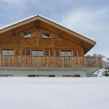 Außen Winter 31, Chalet Arche, Ovronnaz, Wallis, Wallis, Schweiz