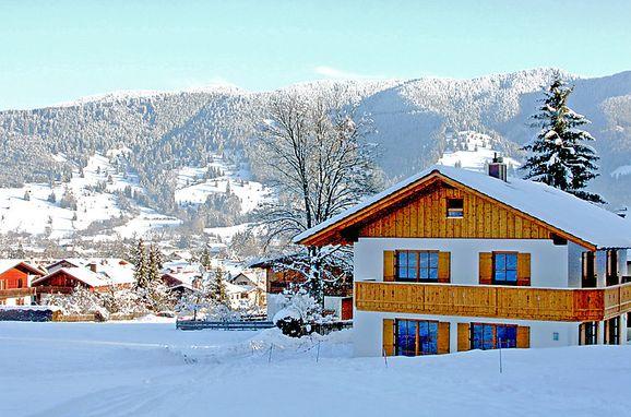 Outside Winter 21 - Main Image, Ferienchalet Schwänli in Oberammergau, Oberammergau, Oberbayern, Bavaria, Germany