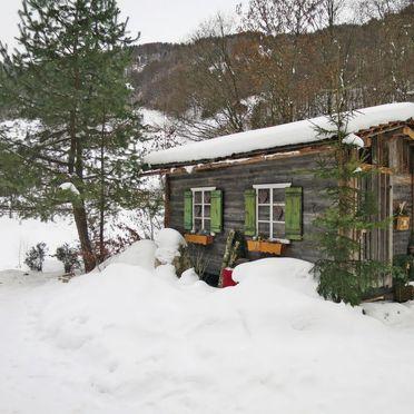 Außen Winter 21, Chalet Wühre im Silbertal, Silbertal, Montafon, Vorarlberg, Österreich