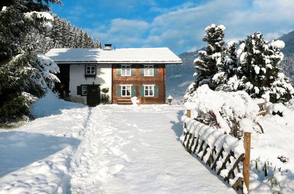 Außen Winter 21 - Hauptbild, Chalet Fitsch im Montafon, Gortipohl, Montafon, Vorarlberg, Österreich