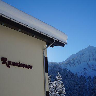 Außen Winter 23, Ferienhaus Runnimoos am Arlberg, Laterns, Vorarlberg, Vorarlberg, Österreich