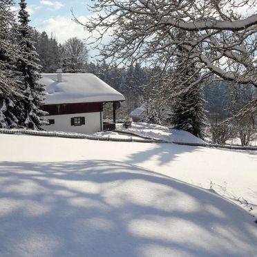 Außen Winter 23, Chalet Mühlberg im Bayerischen Wald, Spiegelau, Bayerischer Wald, Bayern, Deutschland