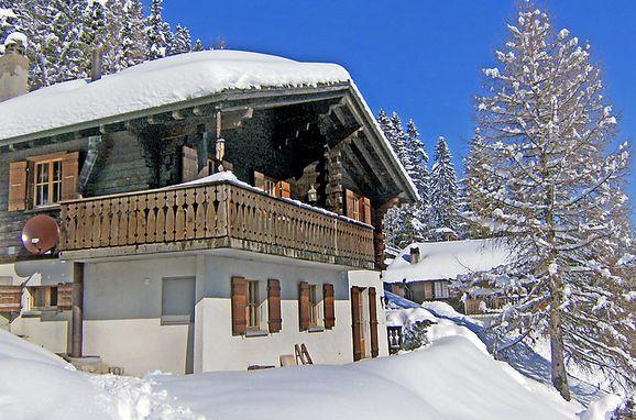 Außen Winter 16 - Hauptbild, Chalet Le Chamois, Moléson-sur-Gruyères, Freiburg, Freiburg, Schweiz