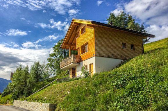 Außen Sommer 1 - Hauptbild, Chalet Börtji, Furna, Prättigau/Landwassertal, Graubünden, Schweiz